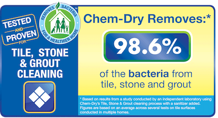 Chem-Dry of Bellingham Removes 98.6% of Bacteria From Stone, Tile and Grout in a Way That is Green and Effective in Bellingham Wa For Your Healthy Hom